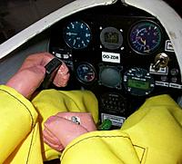 Name: readypaint_6cr.jpg Views: 74 Size: 59.8 KB Description: Pilot hands were drilled out to fit around the stick and spoiler lever, tight fit for the feet and legs into the space under the instrument panel