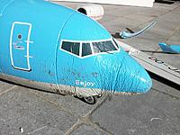 Name: crash 15apr2015_4.jpg Views: 106 Size: 203.5 KB Description: The nosegear took quite a beating with the nose being so much compressed, also sideways
