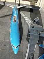 Name: crash 15apr2015_7.jpg Views: 108 Size: 96.0 KB Description: Banana shaped fuselage next to nearly undamaged wings, even the winglets survived. The starboard engine pod hangs to the wing only by its 3 power wires