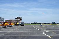 Name: JDM_1248.jpg Views: 54 Size: 121.4 KB Description: Could it get more emotional? flying my model Stampe from the EBTN flightline full of ex-BAF SV4's in front of an audience of about 80 retired BAF colleagues.