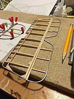 Name: unnamed (9).jpg Views: 209 Size: 21.1 KB Description: Stabilizer completed, and fin-rudder underway. Elevators will be separated before covering.