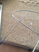 Name: unnamed.jpg Views: 156 Size: 22.7 KB Description: The front fin mount will be functional, and here the reamer is cutting a hole for a small piece of wire. The wire will be glued into the tube, and then extend into the stab.