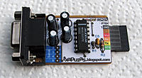 Name: Simple232-TTL.jpg Views: 112 Size: 49.0 KB Description: Serial adapter, programmer for Arduino. I prefer serial but also have a couple of USB FTDI adapters. I installed pins on board (Mosi, Miso, Sck, etc) for using USBASP programmer to install bootloader.