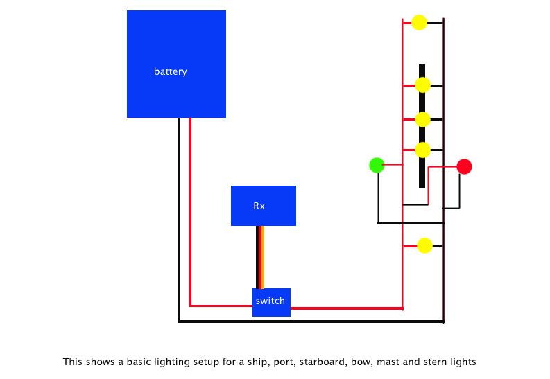 mast lighting diagram rc groups rh rcgroups com LED Light Wiring Diagram 2-Way Light Switch Wiring Diagram