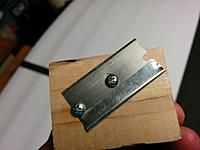 Name: IMG_20141115_211334[1].jpg Views: 96 Size: 359.9 KB Description: I use my favorite foam cutter. A piece of wood and screws :) The blade tip cuts about 0.1mm short of all the way through the foam.