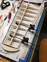 Name: IMG_1240.jpg Views: 70 Size: 159.1 KB Description: The trailing edge was removed to line up with stock rib locations.