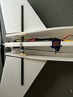 Name: IMG_2107.jpg Views: 342 Size: 358.8 KB Description: make the tail assembly and connect it to servo