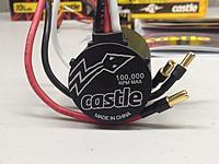 Castle Creations Sidewinder 3 Waterproof 1/10 Sport ESC