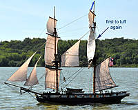 Name: light-wind-luff.jpg Views: 333 Size: 80.5 KB Description: Yards nearly square here.  Light wind. Maintopsail luffs early again.
