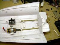 Name: 23NewMountinstalled.jpg Views: 317 Size: 59.4 KB Description: Time for the starboard motor mount to go down!