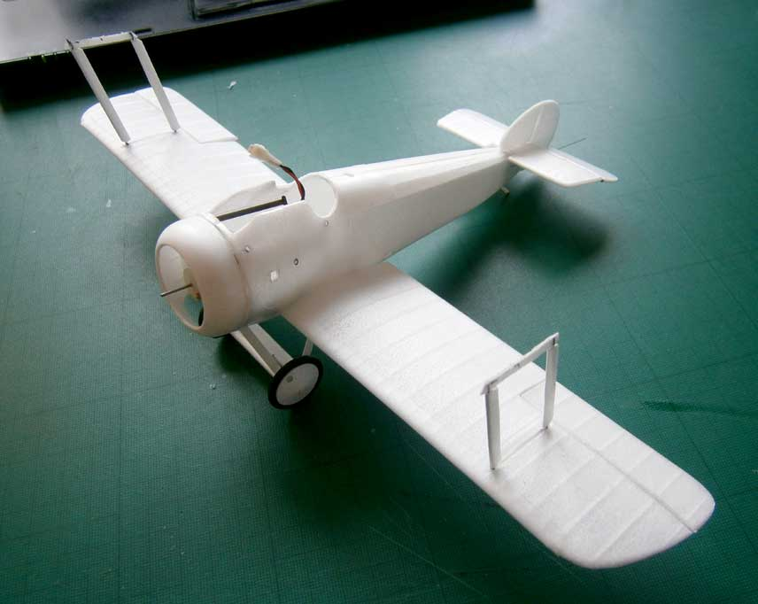 Name: Fuselage10.jpg Views: 129 Size: 34.2 KB Description: build up of moulded parts