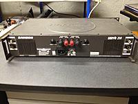Name: Photo Sep 25, 8 41 27 PM.jpg Views: 63 Size: 225.3 KB Description: Rear of Samson Servo 200 amplifier