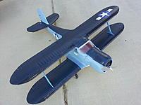 Name: 20121104_080305.jpg Views: 43 Size: 193.4 KB Description: E-Flight Beechcraft Staggerwing