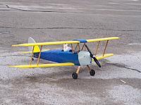 "Name: tiger moth_32.jpg Views: 176 Size: 299.1 KB Description: Tiger moth 35"" just before maiden flight"