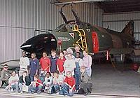 Name: F4-D Phantom ll.jpg Views: 42 Size: 52.2 KB Description: And a favorite of all, the F4-D Phantom II.  I worked on the 'E' model, but I will take a 'D' model any day too!