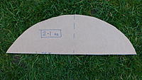 Name: P1060458.JPG Views: 1 Size: 4.79 MB Description: The little bit of wing in front of the CG weighs just 2.1 ounces - a mere 18% of this cardboard airframe.