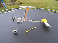 Name: RIMG0945.jpg Views: 102 Size: 121.0 KB Description: Aftermath - one (almighty) crash too many.  Curious how the bent rotor bolt now mimics a helicopter stance!