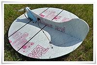 "Name: a2565442-90-5.jpg Views: 323 Size: 60.7 KB Description: UFO-AP by troyn.  Those black bands?  Poly (pallet) strapping top & bottom!  A 48"" biggy."