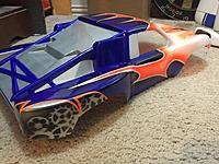 Custom painted traxxas 1/10 slash body - RC Groups