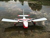 Name: IMG_0093.JPG Views: 31 Size: 979.3 KB Description: original superTwin build with original Trainer1.5 wing