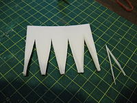 Name: ost build 014.jpg Views: 281 Size: 118.4 KB Description: Nacelle aft portion cut out.  note the slivers trimmed to make it all fit together better.