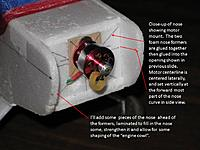 Name: Slide6.jpg Views: 1256 Size: 77.8 KB Description: Here's the formers glued in place, motor mounted.
