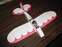 "Name: OSRhs 001.jpg Views: 520 Size: 97.9 KB Description: #7 the first half sheeter - OneSheetRacer, loosely based on the Parkflyer Pete planform 22"" span"