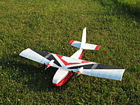 Name: t1 twin ltv.jpg Views: 432 Size: 291.2 KB Description: Wing and tail empennage recycled along with the motors, esc, etc.