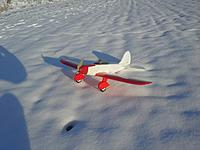 Name: 20151125_090107.jpg Views: 94 Size: 173.7 KB Description: This OSRacer has the KFM5a and the step tapered at the rounded tips. Aileron response is excellent, she flys inverted nicely even with the camber and dihedral you see