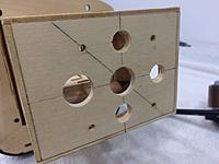 Name: IMG_5528.jpg Views: 37 Size: 314.1 KB Description: X-mount holes and cooling holes drilled.