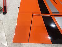 Name: IMG_5630.jpg Views: 34 Size: 380.9 KB Description: Added a strip of orange covering film for finishing.