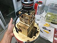Name: IMG_8700.JPG Views: 25 Size: 1.91 MB Description: Test fitting with motor to check clearance with cowling.