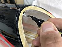 Name: IMG_1964.jpg Views: 5 Size: 2.84 MB Description: Using a marker I paint the tip of the pin and insert the canopy.