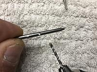 Name: IMG_1976.JPG Views: 3 Size: 2.87 MB Description: Drilled a larger hole with a 1.8mm drill bit.