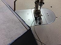 Name: IMG_4090.jpg Views: 29 Size: 632.2 KB Description: Don't forget to back-stitch at the start and at the end to lock the seams.