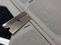 Name: 20140128_234736.jpg Views: 284 Size: 216.9 KB Description: removing part of the foam hinge to install Blenderm weave