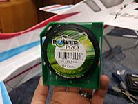 Name: 20140130_225653.jpg Views: 306 Size: 129.9 KB Description: Power Pro 10lb test fishing line is used for pull pull. video describing the process to come later.