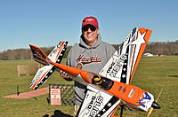 "Name: DSC_2504.jpg Views: 61 Size: 215.2 KB Description: 59"" 3DHS Slick, awesome plane"