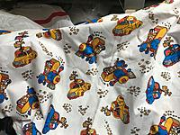 Name: 66032614_2323661837896223_1773291472808837120_n (1).jpg Views: 12 Size: 1.46 MB Description: Some other fabric I came across in the shed - probably a scrap I grabbed from my wife's stash, to use as a rag of some sort.  It may make its way into an airframe yet ...