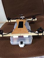 Name: IMG_1160.jpg Views: 70 Size: 123.3 KB Description: FPV payload attachment to the frame