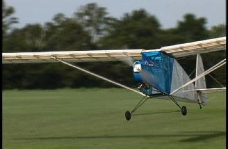 Electric power, 16 ft wingspan, park flyer performance.
