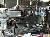 Name: DSCF0871.JPG Views: 89 Size: 892.8 KB Description: Elev servo all servo wire sleeved to protect them