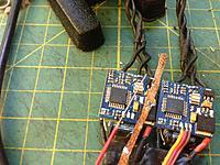 Name: Desolder Wire.jpg Views: 100 Size: 926.0 KB Description: Using standard all copper servo wire+rosin soldering flux instead of standard de-soldering braid.