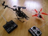 Name: cor&micro.jpg Views: 413 Size: 55.2 KB Description: both my heli's together