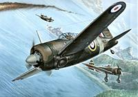 Name: Brewster Buffalo Mk I.jpg Views: 46 Size: 57.6 KB Description: Fighters facing-off!