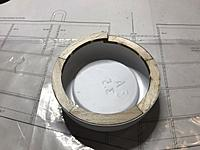 Name: IMG_6292.JPEG Views: 36 Size: 497.7 KB Description: Ring in the cowl bowl. The cross over was marked and the  excess removed. The ring was then glued to the front of the fuse.