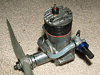 Name: McCoy35RH No2 w-RNVA.jpg Views: 32 Size: 87.4 KB Description: Testor's McCoy Red Head with Evo .45 rear needle valve assembly (bolt spacing fits perfectly), head left in plain aluminum.