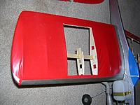 Name: RingmasterJr Starboard Wing.jpg Views: 64 Size: 79.1 KB Description: Broken rib on starboard wing.