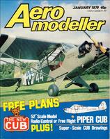 Name: JWH_Cub.jpg Views: 94 Size: 141.6 KB Description: January 1979 Aeromodeller with Cub emphasis. Jack Headley's 52 inch FF/RC version plans were given away free in this issue.