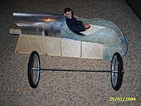 Name: PIC_0009.jpg Views: 570 Size: 50.2 KB Description: Home made wire spoked weels.